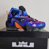 Sepatu Basket Nike Lebron 13 BNIB Premium Original Purple X Air Jordan