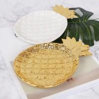 pineapple plate Piring nanas / piring unik / nampan dekor