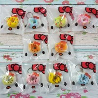 Jual Squishy  Mini Hello Kitty Donut  Murah