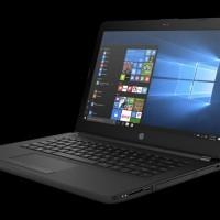 Laptop HP Notebook 14-BS 011TU-BK RAM 4GB HDD 500GB DOS RESMI CORE i3