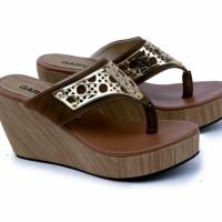 Ready GKK 4258 wedges sepatu sendal wanita garsel e864551687