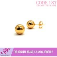 Anting Tusuk Lapis emas Perhiasan imitasi Gold 18k Yaxiya Jewelry 187