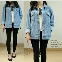 jaket jeans/jaket sandwash/jaket jeans biobiltz/jaket jeans levis/vans