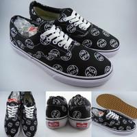 Sepatu Kets Supreme X Vans Era Fvck Em Collaboration Black Hitam