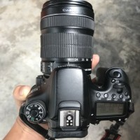 Kamera Canon Eos 70D kit II 18-135mm IS STM (Second)