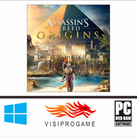 Assassins Creed Origins + All DLC Update Game Pc/laptop