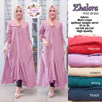 Baju Atasan Wanita Muslim Blouse Zalora Mini dress
