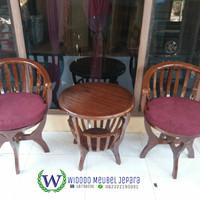 kursi betawi (minimalis, kursi, bofet, depan, nakas, meja, furniture)