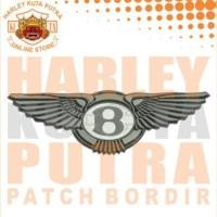 Jaket Parka Kulit Jaket Harley Davidson Patch Emblem Bordir Series 1