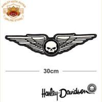 Jaket Kulit Levis Jaket Harley Davidson Patch Atribut Bordir Series 56