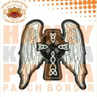 Jaket Neymar JR Boomber Kulit Harley Davidson Patch Atribut Bordir