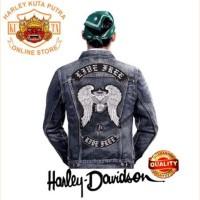 Jaket Parka Kulit Jaket Harley Alan Walker Patch Atribut Bordir Series