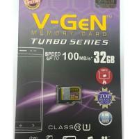 MicroSD V-GeN Turbo 32GB Class 10 85MB/S (MicroSD VGEN) Memory HP
