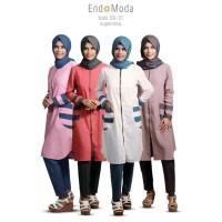 EndoModa SN-10 Atasan Wanita Model Terbaru 2018 Pakaian Hijab Muslim