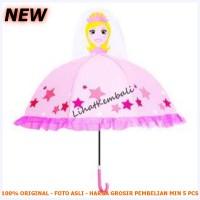 Payung Anak Model Kartun - Cinderella