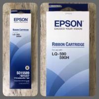 Ribbon Cartridge Epson LQ-590 S015589 S015337 Original/Genuine