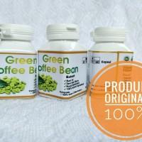 Jual Kapsul Kopi Hijau Pelangsing Alami kapsul green coffee bean Murah