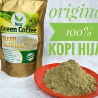 Jual KOPI HIJAU MUJARAB - GREEN COFFEE - BUBUK - TERBUKTI Murah