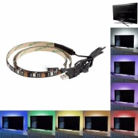 RGB Lampu Hias Ruangan Meja PC Tv Lampu Led Strip Mood 5050 2M