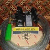 Alat / mesin cuci motor mobil Pompa Air set steam