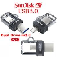 SANDISK DUAL USB DRIVE USB 3.0 32GB ULTRA / USB OTG/ FLASHDISK