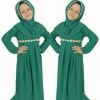 Busana muslim alin syari kid pakaian hijab anak baju lebaran