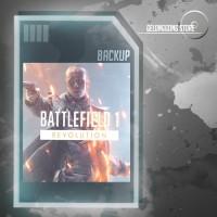 Backup Game Original Origin Battlefield 1 Last Update