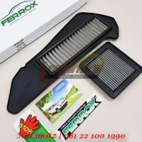 Paket Filter Udara / Air Filter CVT & Mesin Ferrox Yamaha XMAX 250