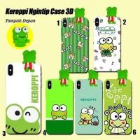 Case Keroppi 3D - Semua Tipe HP - Samsung iPhone Xiaomi Asus Oppo dll.