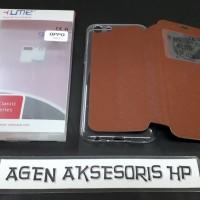 Flip Cover Oppo A83 5.7 inchi Sarung Buku Lipat UME CLASSIC Flip Case
