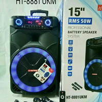 Speaker Aktif Portable Asatron HT 8881 (Dari Bandung)