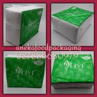 Tissue lembar/tissue muka/tissue refill livi