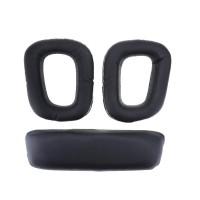 Set Earpad Foam Busa Kulit Headband Ear Pads Logitech G35
