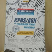 Buku tes CPNS/ASN USM STAN STIS STSN IPDN Terbaik dan Terlaris !!!