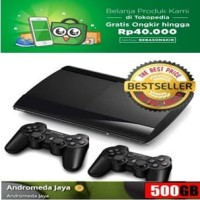 Sony PS3 Super Slim 500GB isi Games Original