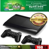 Sony PS3 Super Slim 160GB Isi Games Original