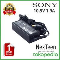 Original Adaptor Charger Sony Vaio Pocket 10.5v 1.9a Vgp-Ac10v2