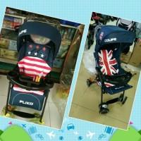 PLIKO COUPE BS208 baby stroller kereta dorong bayi x rodeo elle