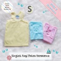 Grosir Singlet Bayi Newborn Warna | (Size S) Murah Berkualitas