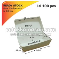 GOSEND MINIM 3 PACK Lunch Box M (Uk Atas 18x11x5) TANPA LAMINATING