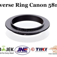 Reverse Ring Adapter Canon 58mm