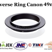Reverse Ring Adapter Canon 49mm