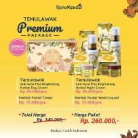 Premium Temulawak antiacne Plus Brightening Roromendut