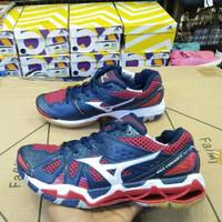 Mizuno Tornado Premium Original / Sepatu Voli Olahraga Gym  Fitness