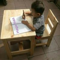 Meja Belajar Anak Sekolah / Meja Anak PAUD,TK,SD / Meja Makan / Kursi