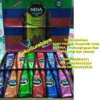 Grosir Henna Pacar Neha Rainbow Classic Rangela (1 box) | Golecha