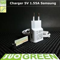 [ORIGINAL] Charger Samsung Original 5V 1.55A J7 J5 J3 J2 Prime Ori100%