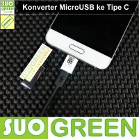 [ORIGINAL] Samsung Charging Converter MicroUSB Female to Type C Male