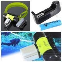 Sale! Senter Kepala Selam Nyelam / Headlamp Diving Limited