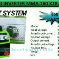 Promo Digital Mesin Las Listrik Kentaro 160Ampere Igbt 650 Watt Unik